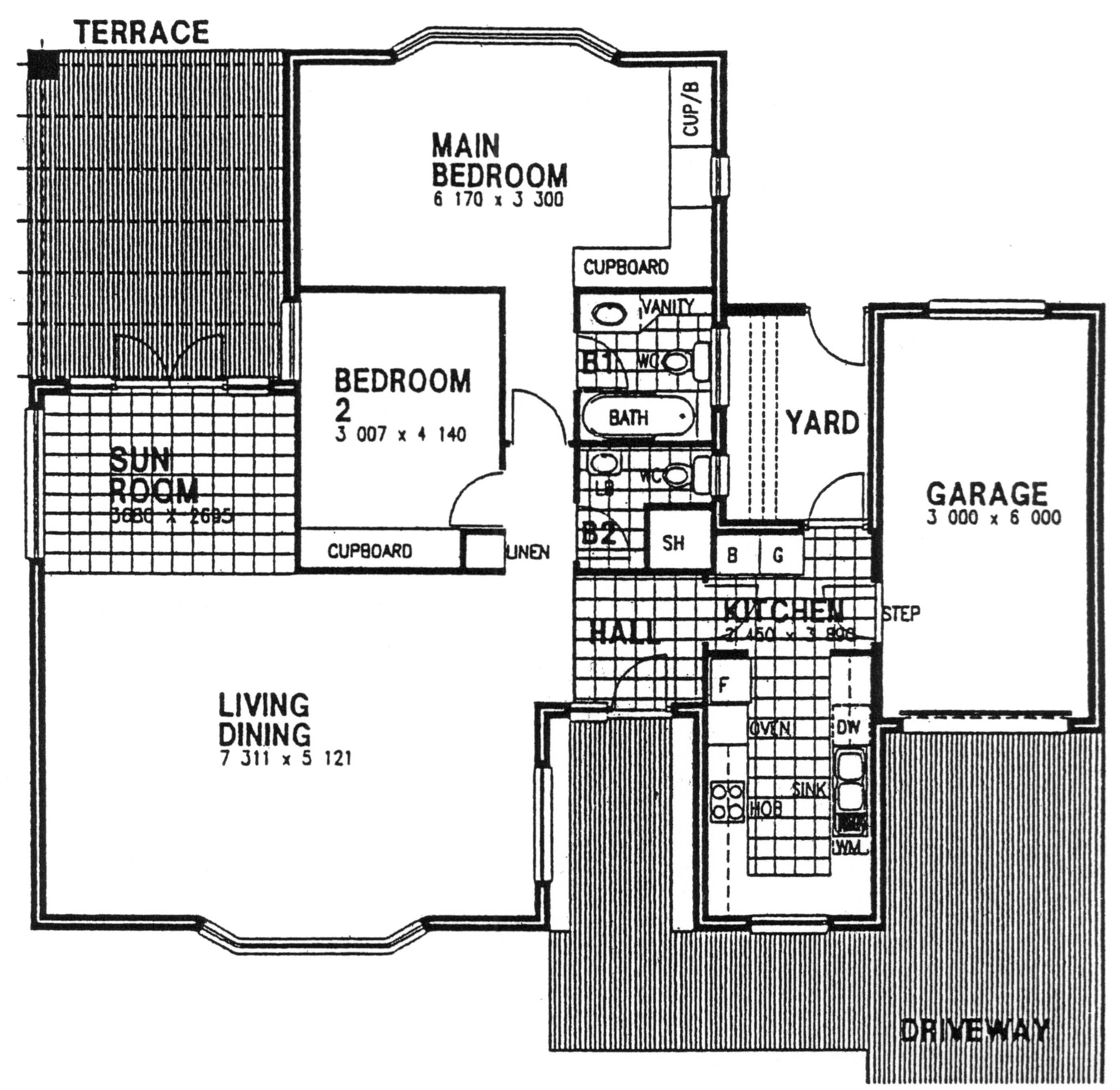 Floor Plan - Dewsbury Floor Plan