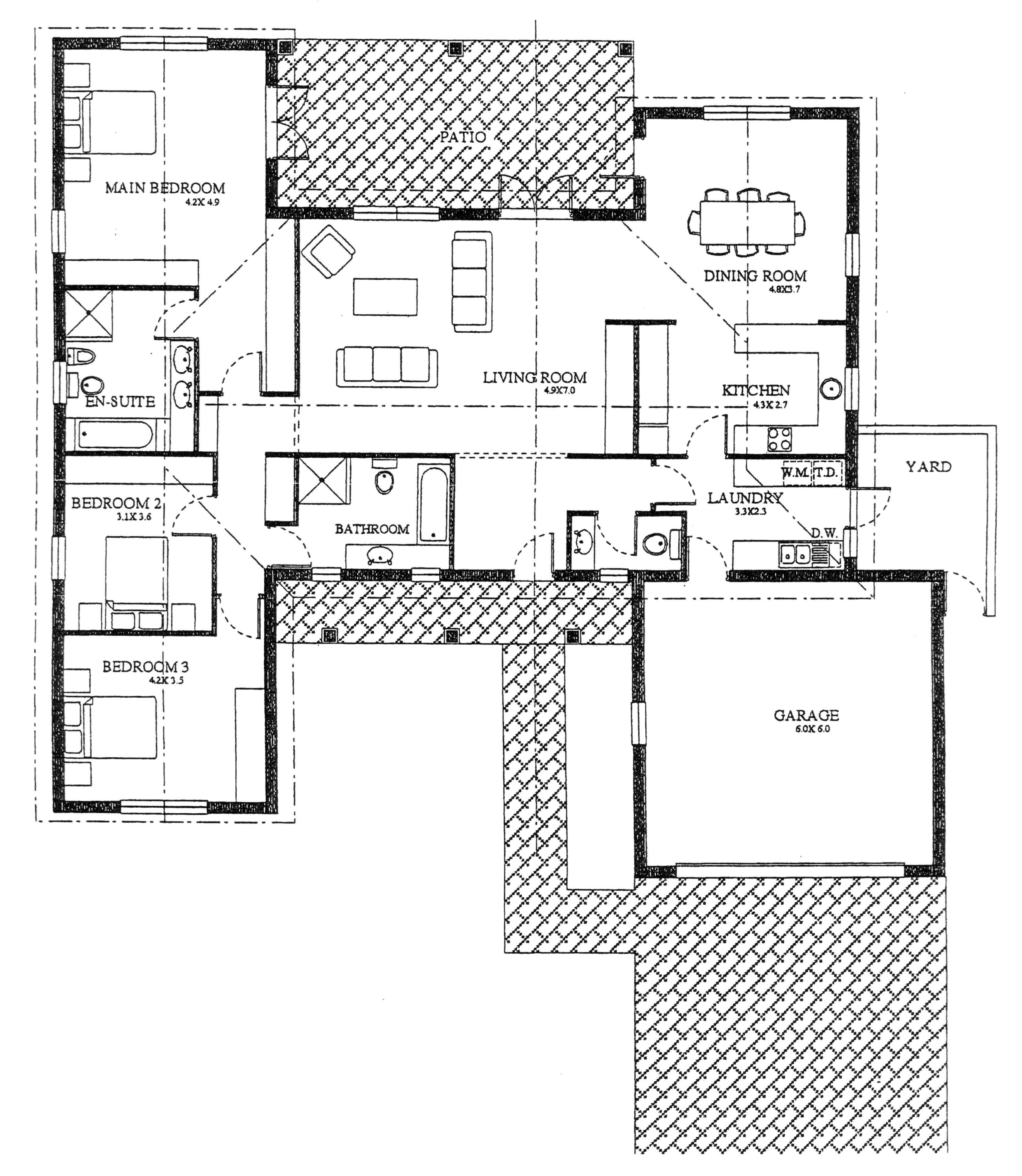 Floor Plan - Heron Floor Plan