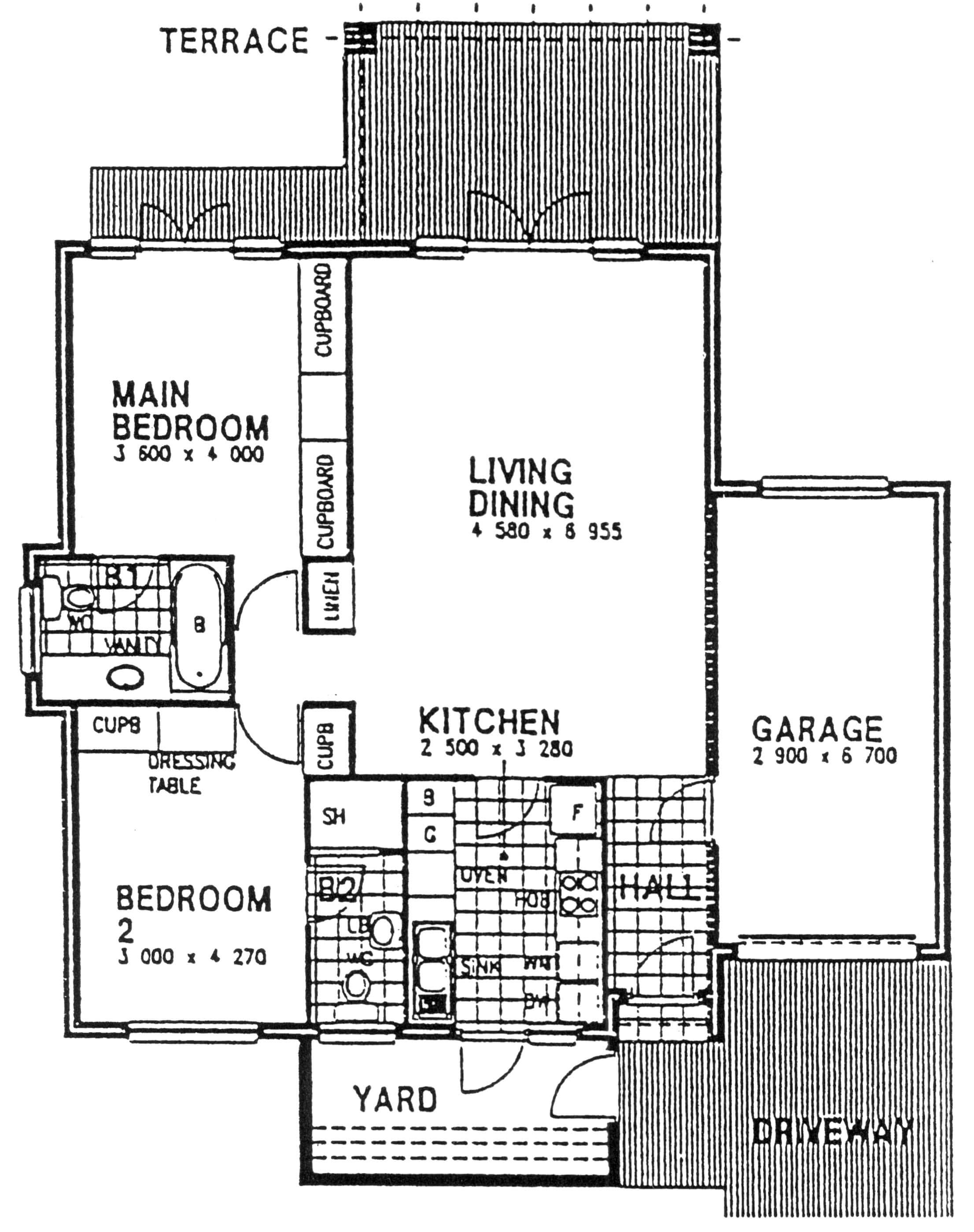 Floor Plan - Newlands 2 Floor Plan