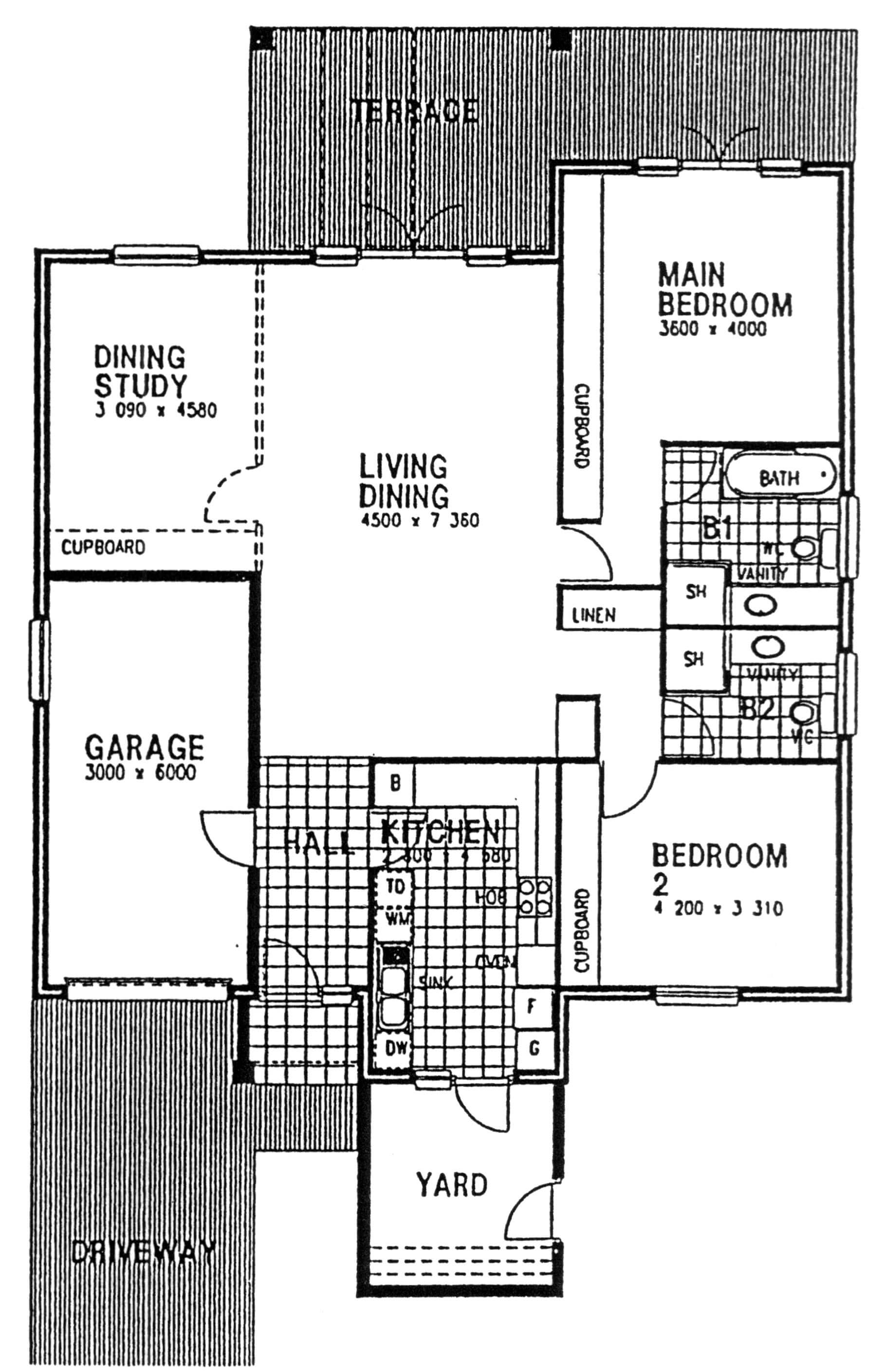 Floor Plan - Cumberland Floor Plan