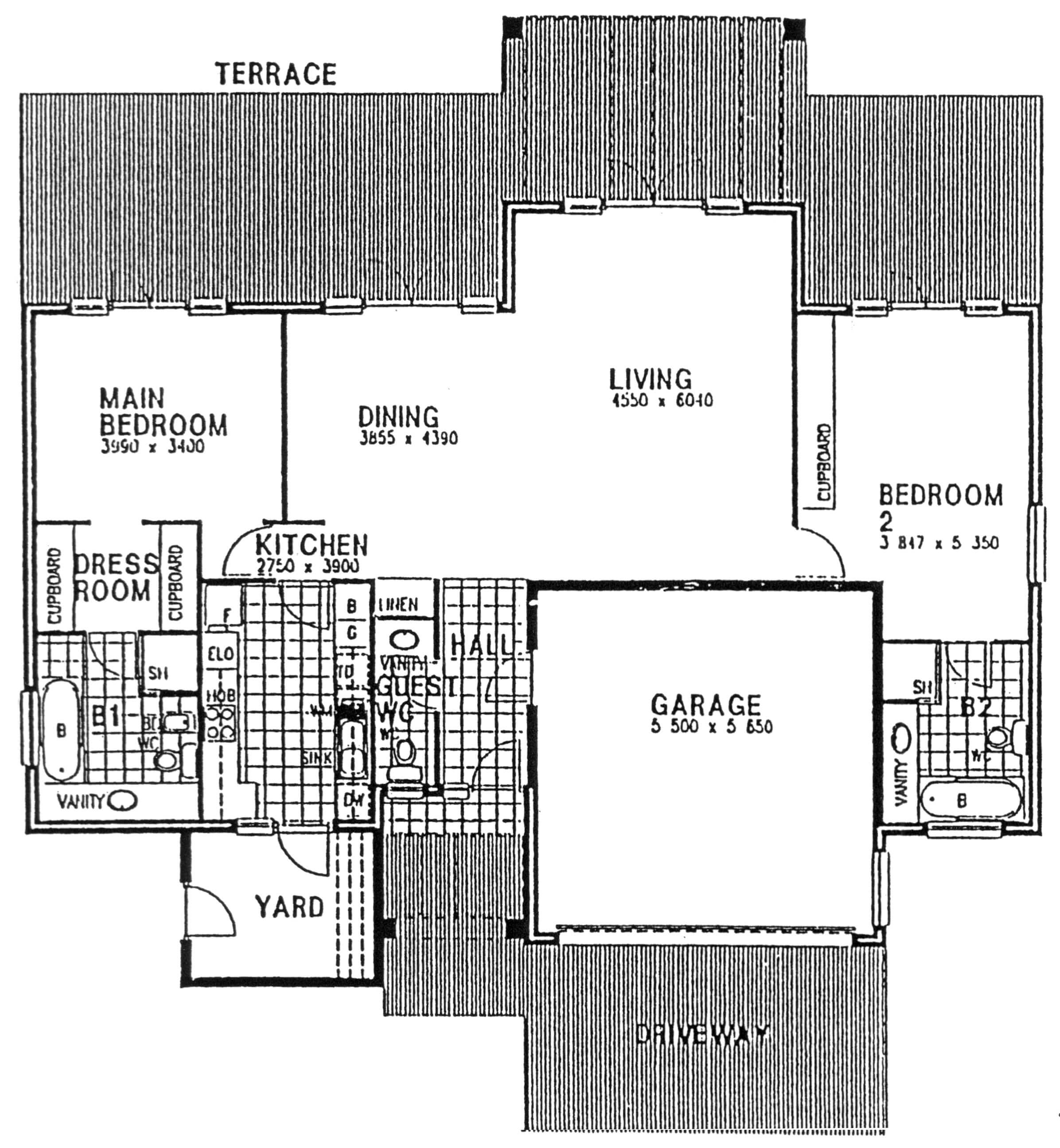 Floor Plan - Berkshire Floor Plan