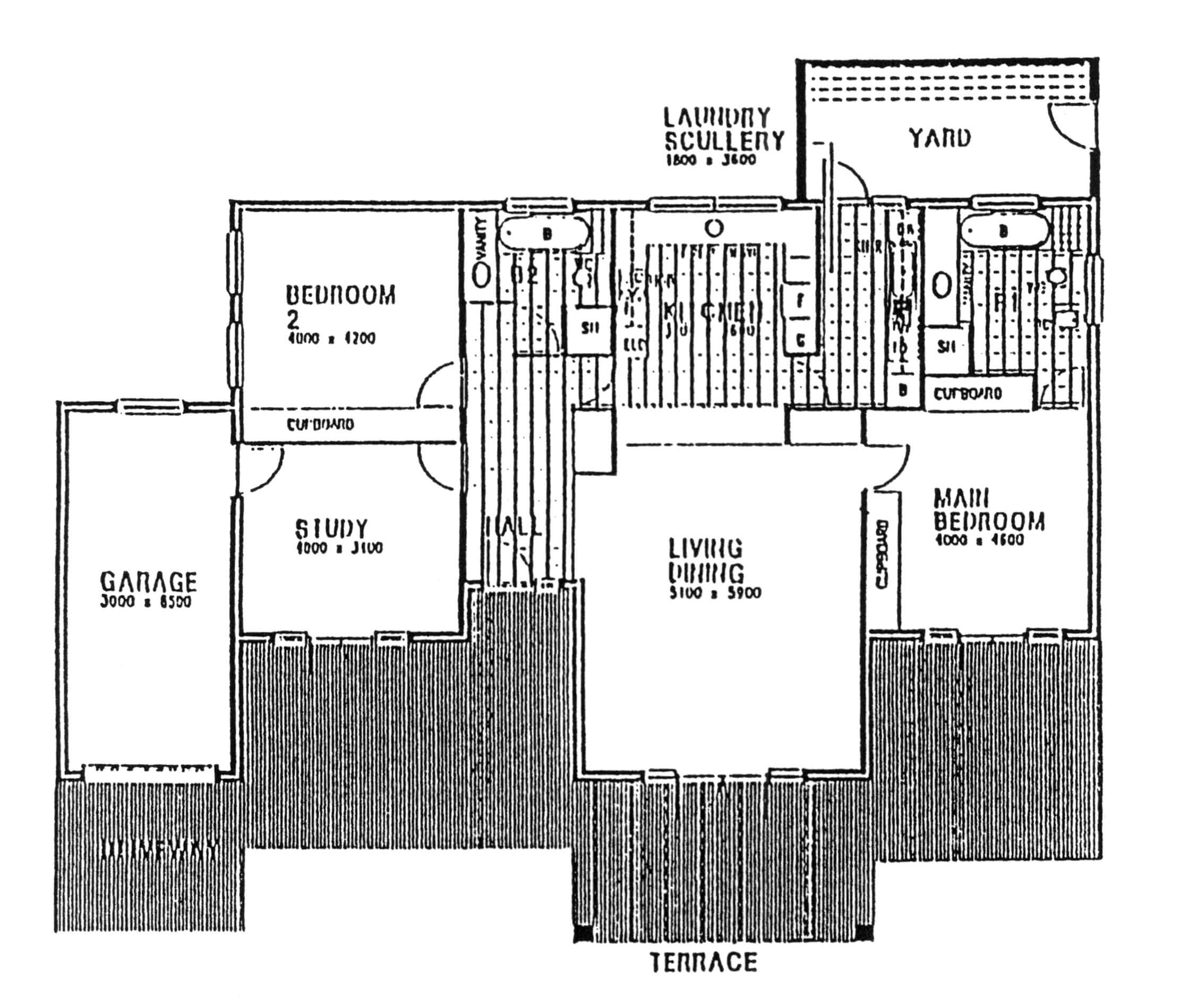 Floor Plan - Dorchester2 Floor Plan