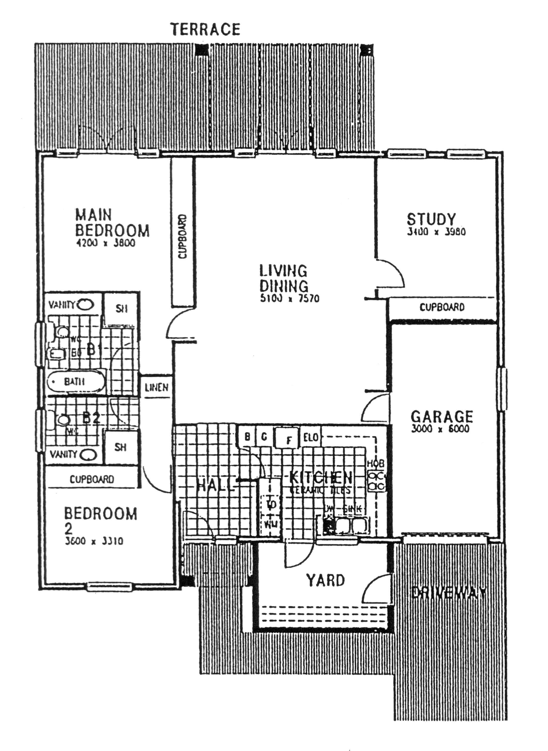 Floor Plan - Norfolk Floor Plan