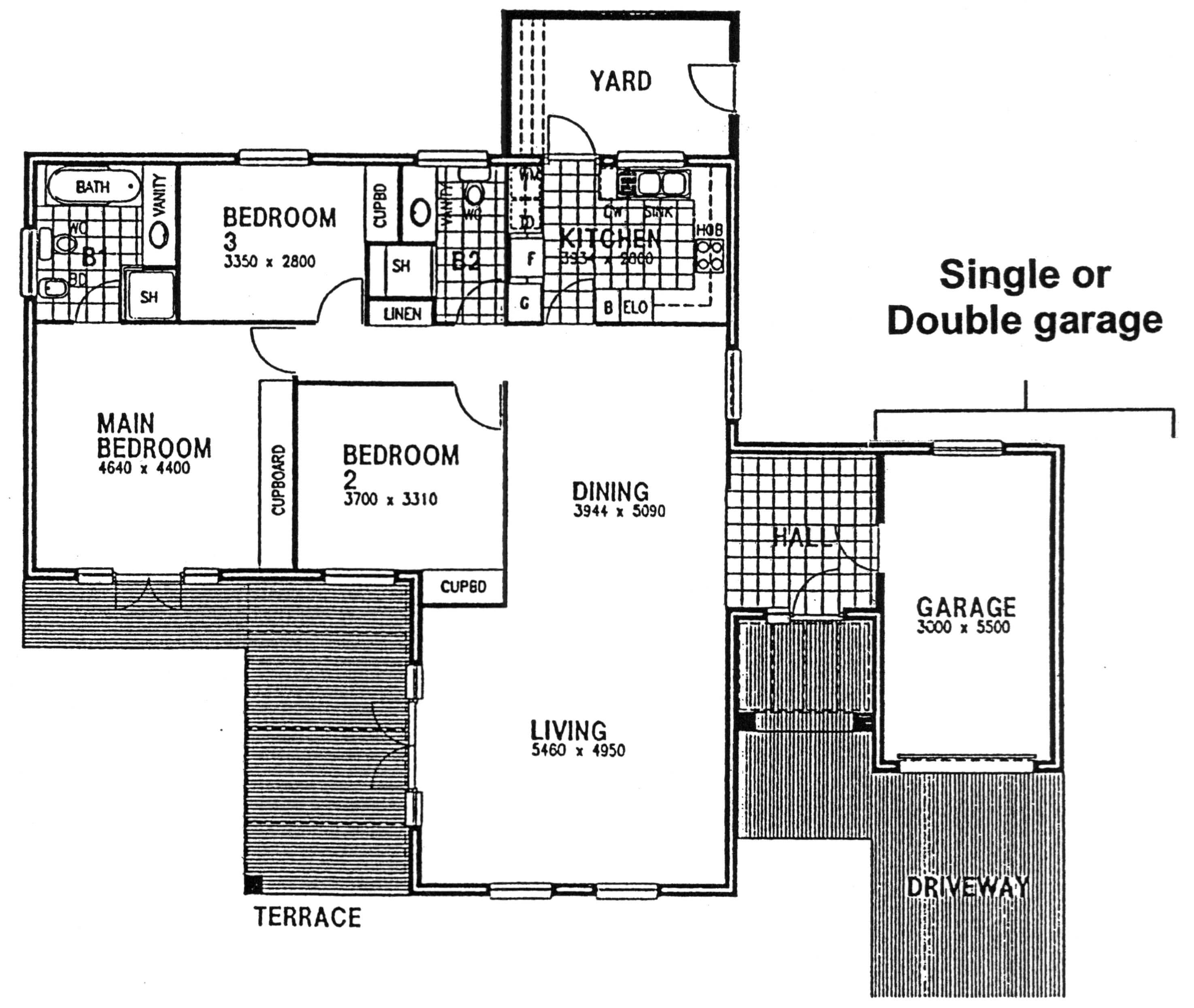 Floor Plan - Cotswold Floor Plan
