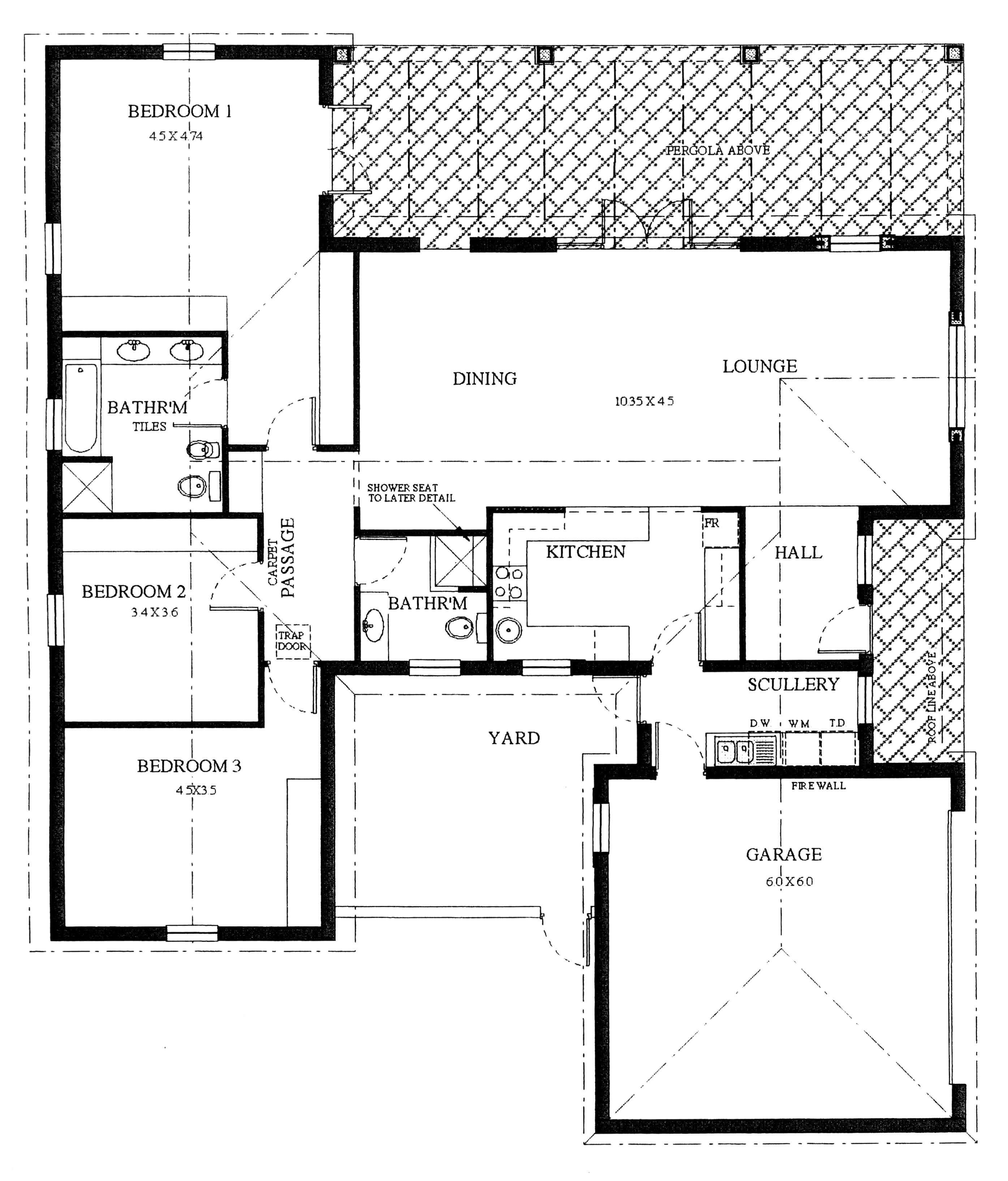 Floor Plan - Flamingo Floor Plan