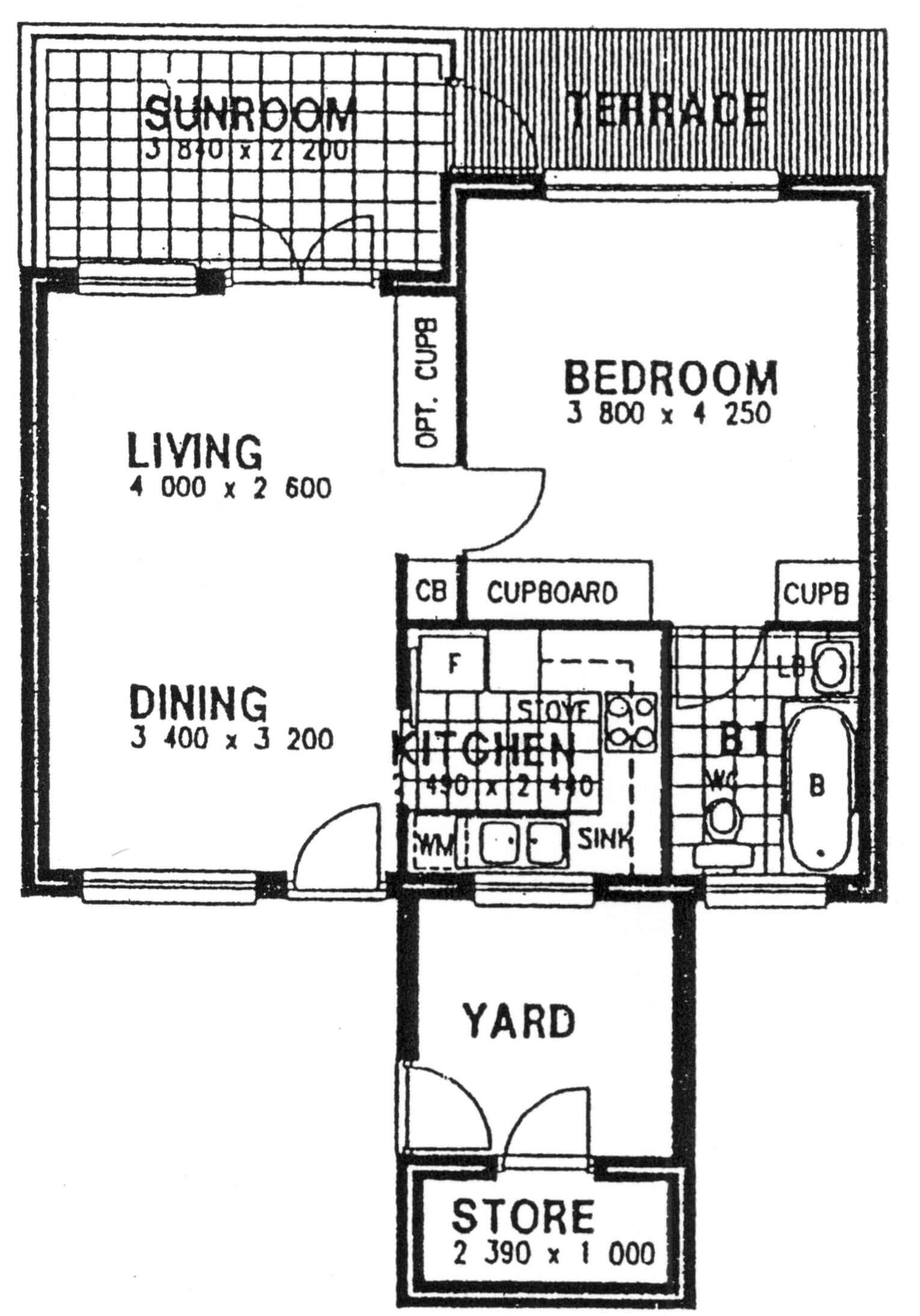 Floor Plan - Birch Floor Plan