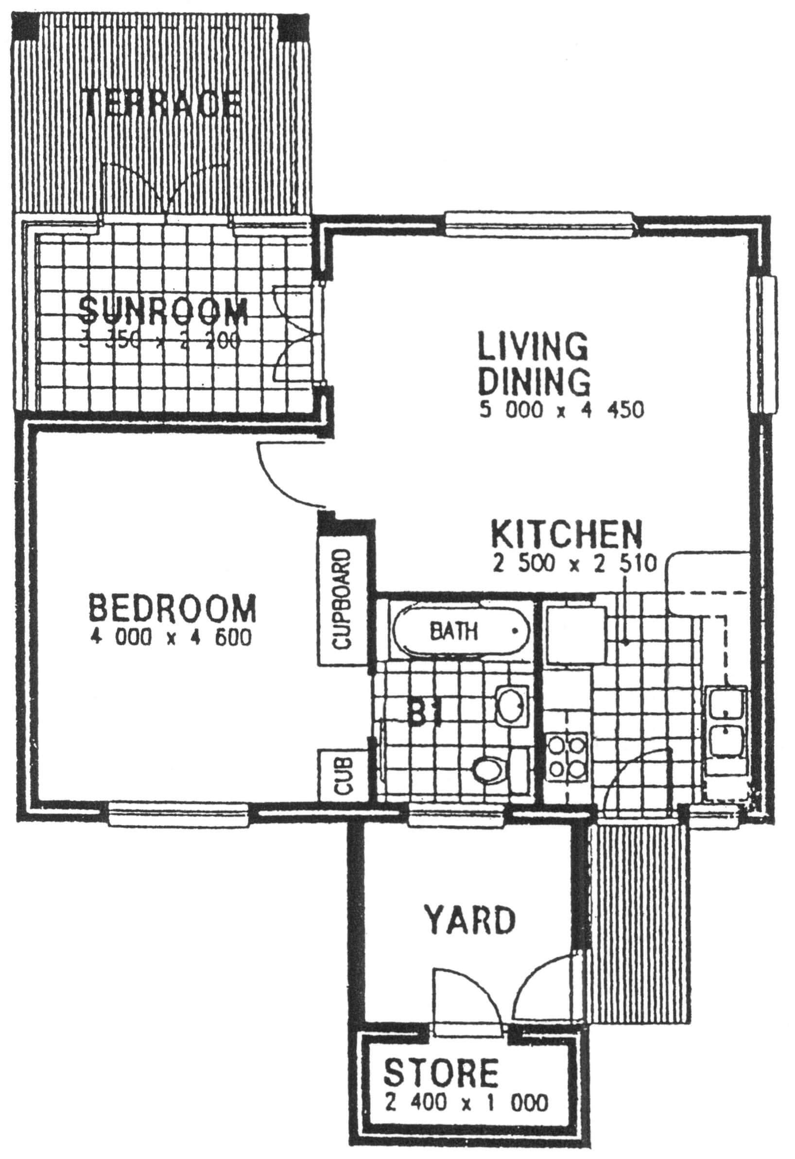 Floor Plan - Beech Floor Plan