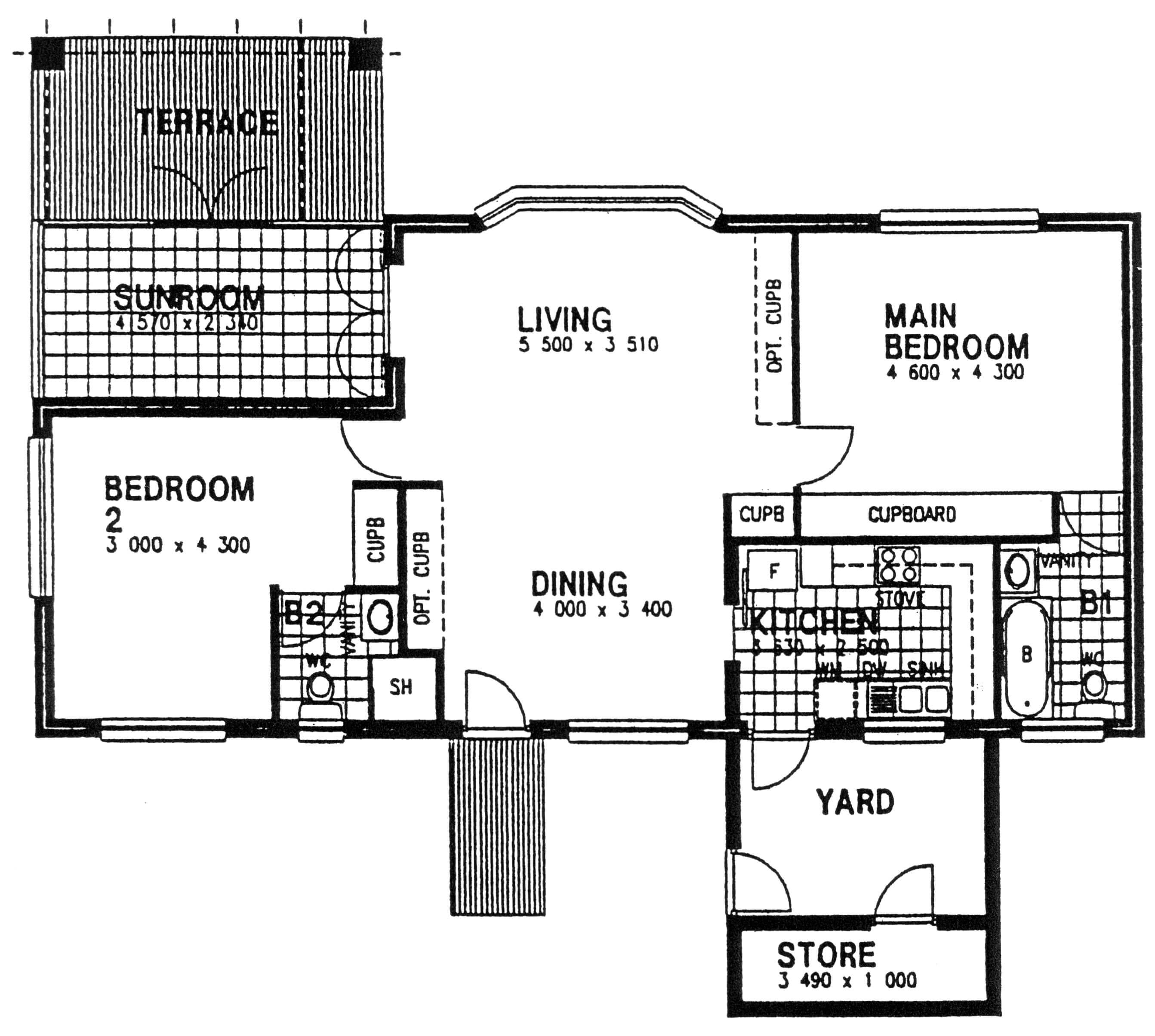 Floor Plan - Flame Floor Plan