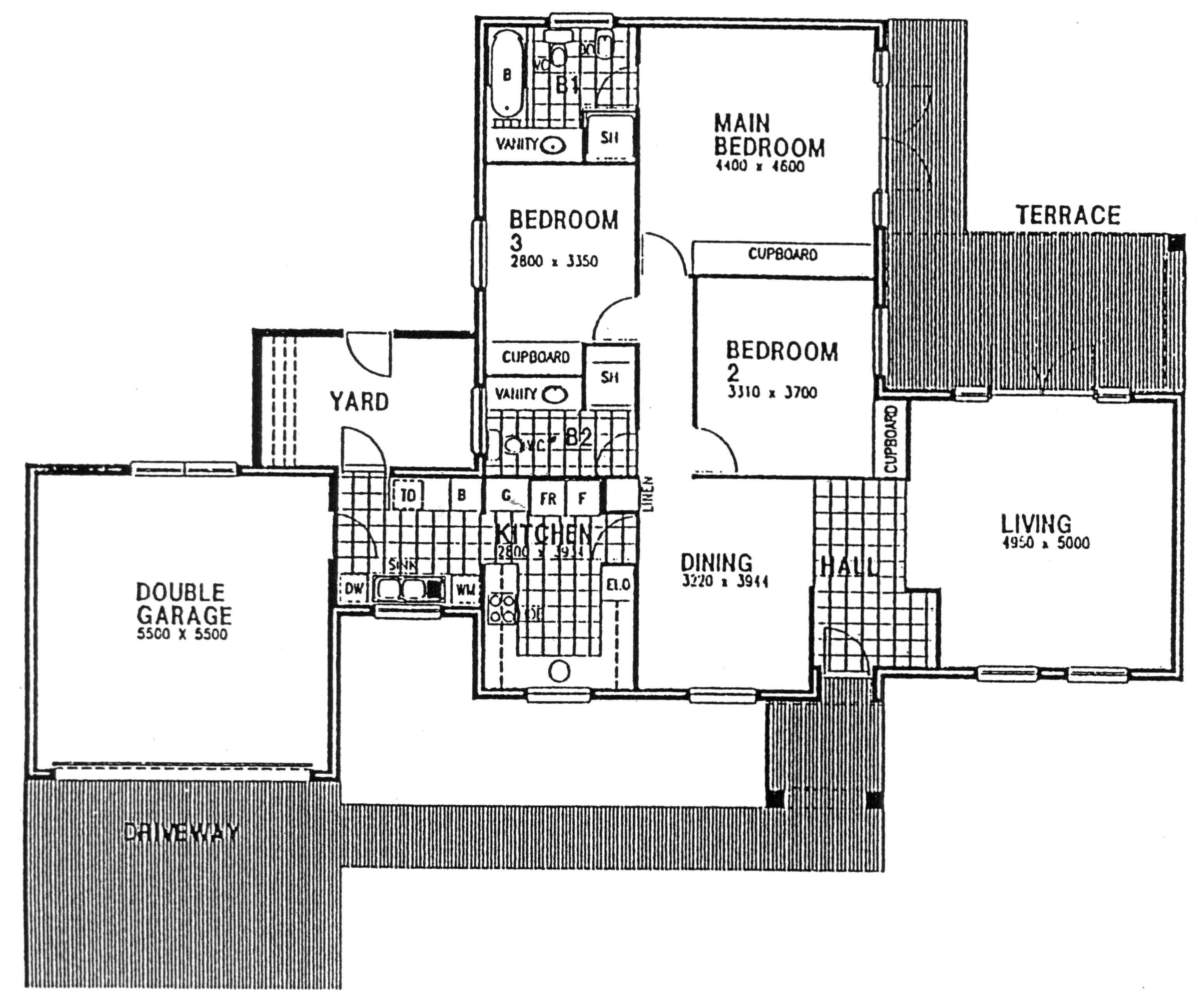 Floor Plan - Chiswick Floor Plan