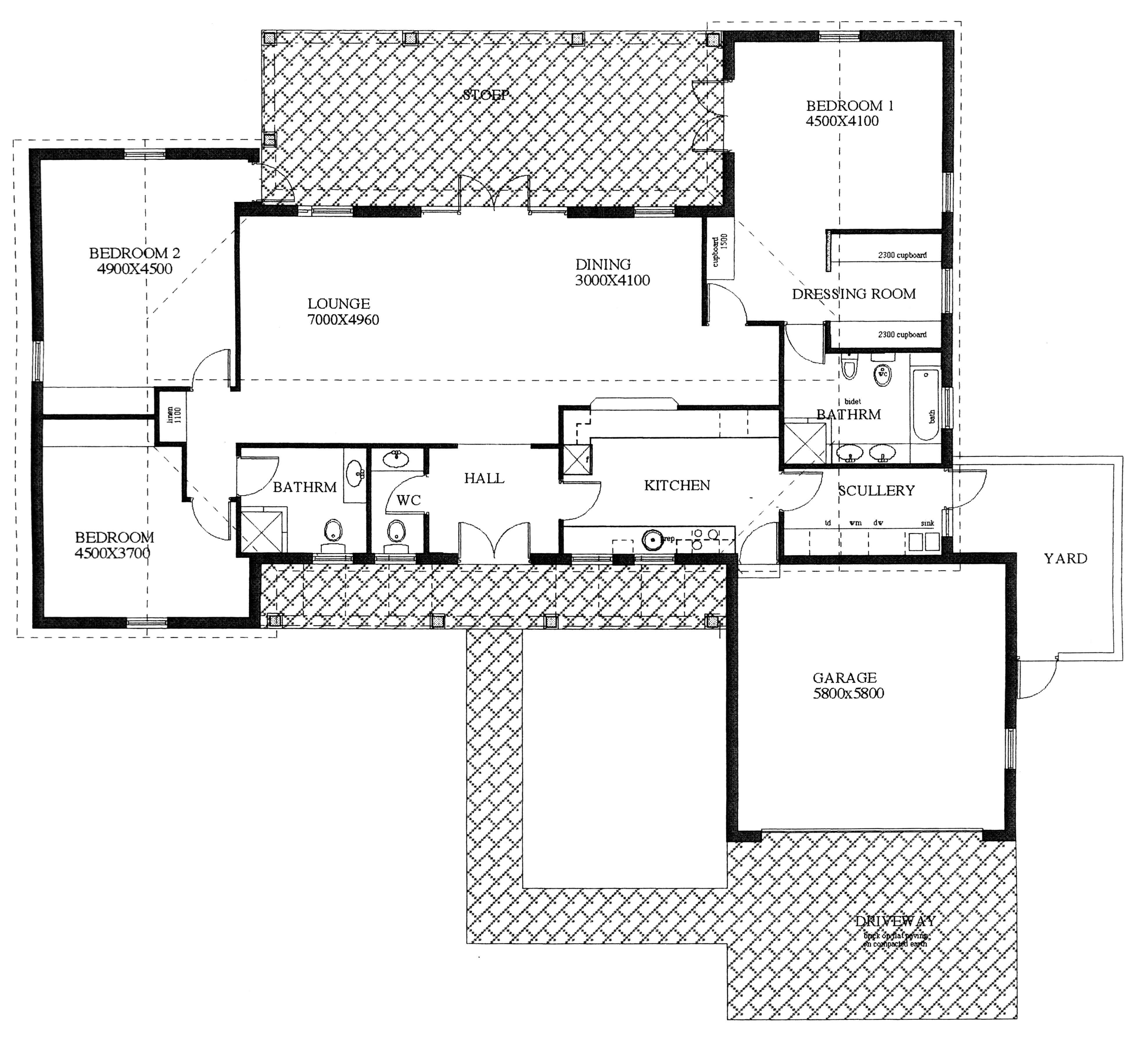 Floor Plan - Hornbill Floor Plan