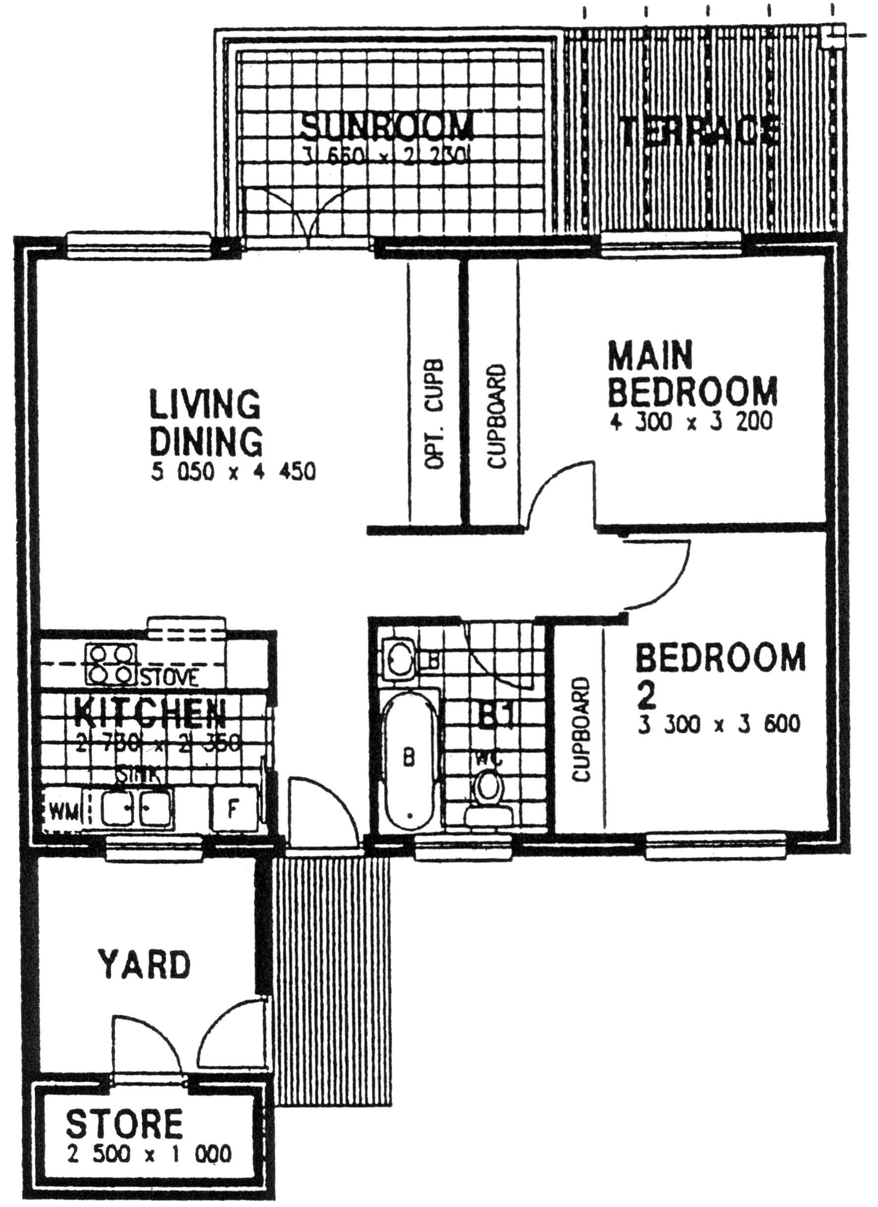 Floor Plan - Cedar Floor Plan